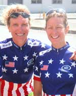 Joy Shaffer and Jen Whatley, 2002 Women's Tandem Championships